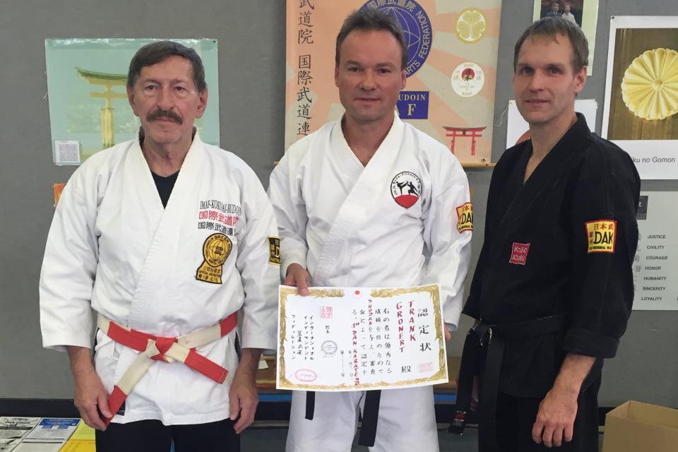Frankk Gronert Karate